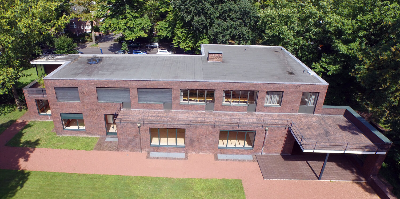 Bauhaus Luftaufnahme NRW - Haus Esters Krefeld