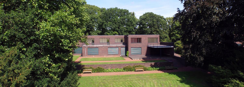 Haus Lange Luftbild - Krefelder Kunstmuseen